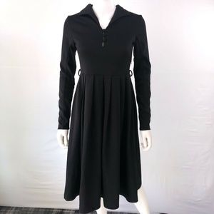 H&M A Line Shift Dress Knee Length Long Sleeve